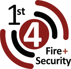 1st 4 Fire & Security company logo