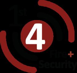 1st 4 Fire & Security company logo