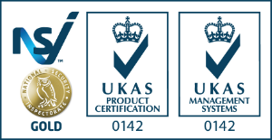 UKAS Gold Accreditation logos