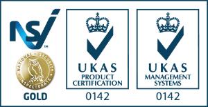 UKAS Gold Accreditation logos
