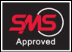 SMS approved logo